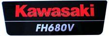 OEM BRAND STICKER, KAWASAKI FH680V ENGINES, LAWNMOWERS, 12C38