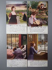 R&L Postcard: Bamforth Song Card Set Series 5057 When You Come Home
