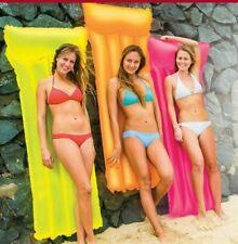 Intex Luftmatratze orange   Wassermatratze Poollounge Pool Badespaß