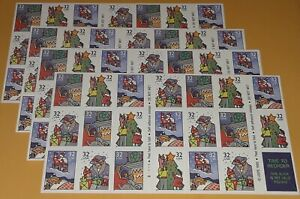 Four x 20 = 80 Of CHRISTMAS - FAMILY SCENES 32¢ US PS Stamps. Scott # 3113-3116