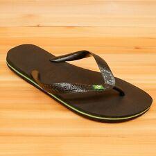 Havaianas Flip Flops Sandals Black Size 9/10 Mens 11/12 Womens EUR 43/44