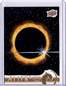 2021 Upper Deck Alien 3 Sketch Card, Space Scene, Jay Manchand