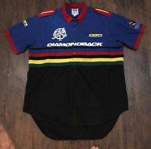 Diamondback Cycling Jersey size XxL BMX  Mtb Team Mechanic Shirt XXL Rare