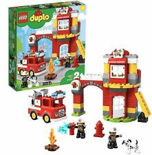 LEGO 10903 Duplo Town Modern Fire Station Light And Sound Building Toy Playset