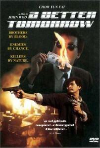 A Better Tomorrow DVD 1986 John Woo Chow Yun Fat Rare Movie BRAND NEW ALL REGION