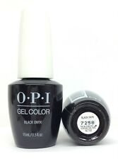 Gelcolor -Soak Off Gel Nail Polish- opi BLACK ONYX GC T02 - 0.5oz/15ml