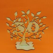 Jubiläumsbaum Geburtstag, 30 Jahre aus Holz 16cm Lebensbaum Geschenk Hochzeit