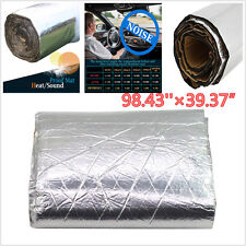 Autos Car Firewall Sound Deadener Heat Insulation Deadening Material Mat 2.5MX1M