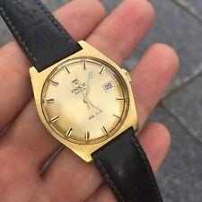Vintage TISSOT PR516 Superb Champagne Dial Extraordinary Watch