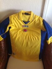 Colombia Lotto Vintage Home Soccer/futbol  Jersey Size L Men's