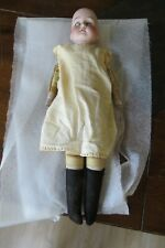 """Armand Marseille Antique German """"Lissy"""" Doll 18"""" Open Mouth Sleeping Eyes c.1894"""