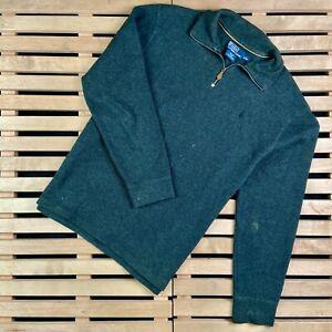 Mens Sweatshirt Pullover Polo Ralph Lauren Vintage Size L