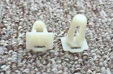 10 x Door Sill Trim Moulding Fastener Clips Protective Fixing For SKODA