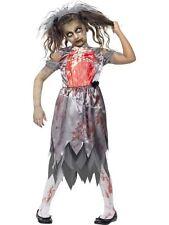 Zombie Bride Costume, Halloween Children's Fancy Dress/Cosplay #CA