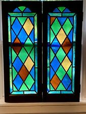 Stained Glass Window Shutters