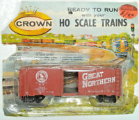 Vintage - Crown - HO Scale - Box Car - Great Northern Railway - #C150 - Sealed