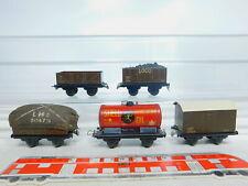 BY302-0,5# 5x TTR/Trix Twin Railways H0/DC Wagen: 33550/61253/53084 LMS + Shell
