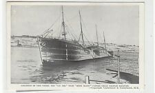 "THE DAMAGED ""SS IMO"": Halifax Nova Scotia disaster postcard (C27405)"