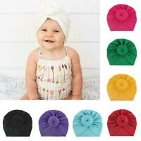 Baby Girls Kids Bunny Rabbit Bow Knot Turban Headband Hair Band Headwrap