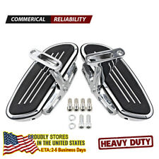Chrome Streamline Passenger Footboard Floor Board Set For Harley Touring 93-18