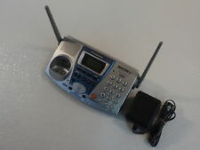 Panasonic Cordless Telephone Base Station Cradle Silver 2.4Ghz 2 Line Kx-Tg2740S