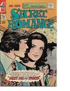 Secret Romance #26 Charlton - 1973 - FINE+
