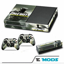 Call of Duty infinite WARFARE XBOX ONE Console + Kinect Controller Pelle Sticker