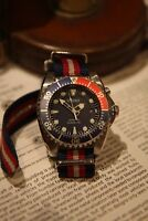 XMAS Special Seiko (SKA369) Kinetic Pepsi Diver watch
