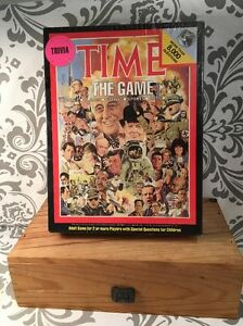 Vintage Sealed NIB Time The Game 1983 Trivia 8000 Questions Hansen #380