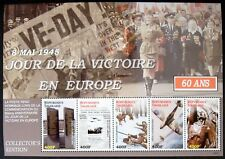 2006 MNH TOGO WWII STAMPS SHEET VJ DAY VICTORY IN EUROPE DAY 60 ANV AIRCRAFT