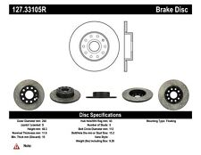 StopTech Rear Right Disc Brake Rotor for 2005 - 2012 Seat / Audi / Volkswagen