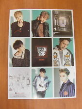 TEEN TOP - Red Point (Urban Ver.) CD + Photo Card +Unfold POSTER $2.99 Ship