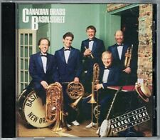 CANADIAN BRASS: BASIN STREET with George Segal CBS CD Amazing Grace Chinatown