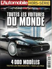 l'Automobile Magazine Hors-Série Toutes Les Voitures du Monde 2007/2008