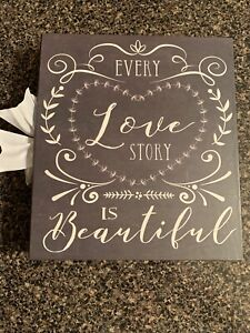 Love Story Photo Album Wedding Marriage