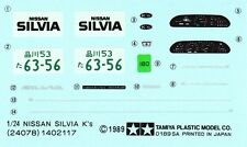 TAMIYA Decal 24078 1/24 Nissan Silvia K's