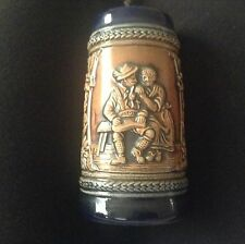 ANTIQUE GERZ COLBALT MARKED BEER MUG FROM GERMANY BEAUTIFUL STIEIN RARE NE