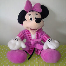 GIFT PRIZE Cute Minnie Mouse in PINK Dressing Gown Night Clothes RARE DISNEY