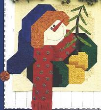 Happy Snowman applique quilt pattern by Cheryl Haynes of Prairie Grove Peddler