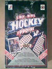 1990-91 UPPER DECK NHL HOCKEY HIGH SERIES FRENCH EDITION UNOPENED WAX BOX