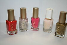 5 NEW FINGERNAIL POLISH LOREAL NAIL COLOR VERNIS 2 GLITTER 3 SOLID 5 GREAT COLOR