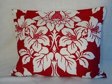 Laura Ashley Anya Cranberrry Cotton rectangular large cushion covers 16x20''  BN