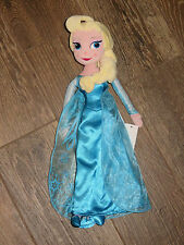 "NEW Disney Authentic Frozen Elsa 16"" Plush Doll - IN HAND - WITH TAG"