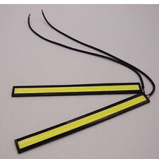 Daytime Running Waterproof LED 12v White Light Fog Car DRL COB Strip Lamp 17cm N