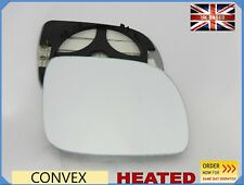 For VW LUPO 1998-2005 Wing Mirror Glass Convex HEATED Right Side /1019
