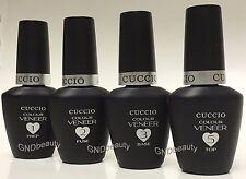 Cuccio T3 UV LED  Self-leveling Nail Gel  Clear Pink Fuse Top Prep  1oz, 0.43 oz