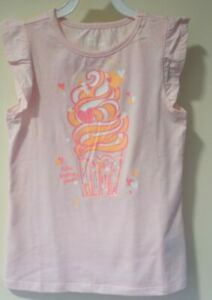 NWT Epic Threads Pink Cupcake Top Girl's Size 6X