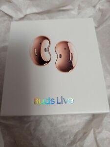 New Samsung Galaxy Buds Live SM-R180  Earbuds Bluetooth Earphones Mystic Bronze
