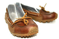 Merrell Marina Womens Brown Leather Driving Shoes Vibram Soles US 6.5 EUR 37
