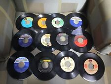Vintage 45 Record Lot Set Of 34